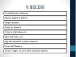 9 becer