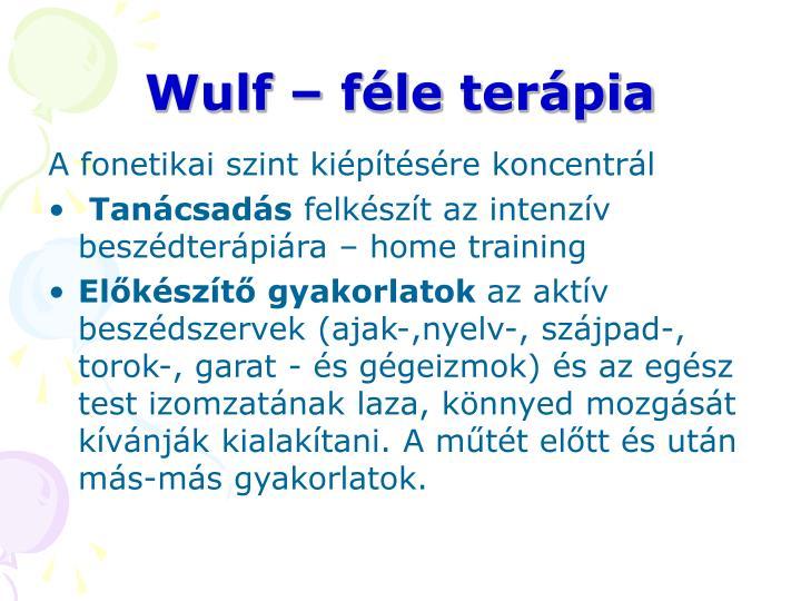 Wulf – féle