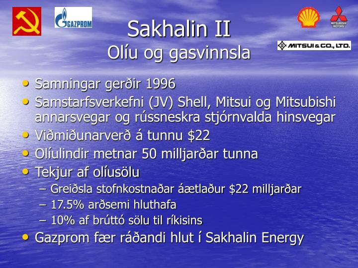 Sakhalin II