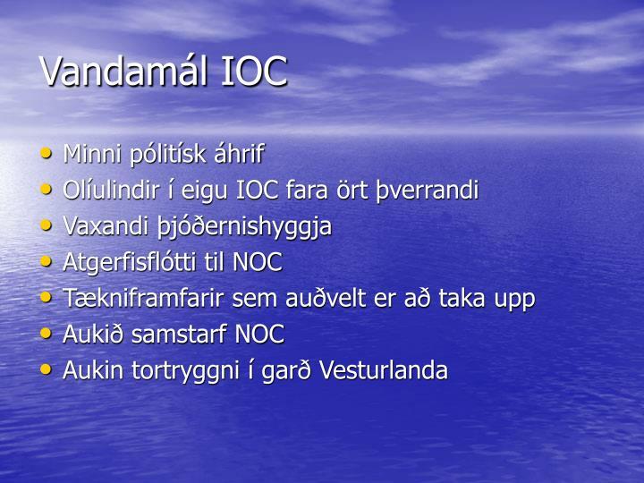 Vandamál IOC
