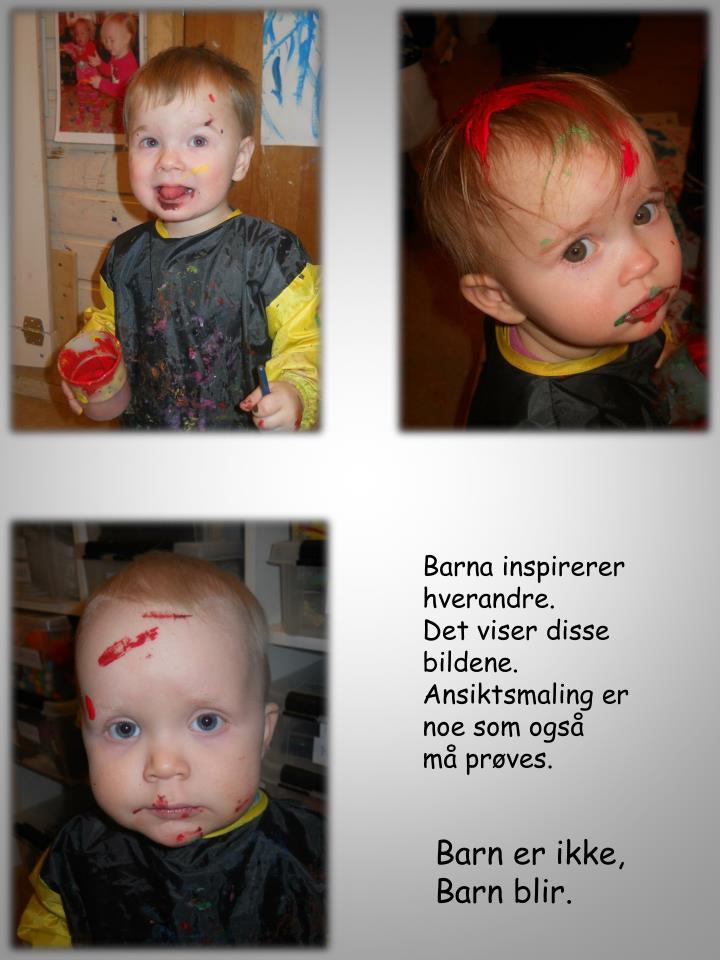 Barna inspirerer
