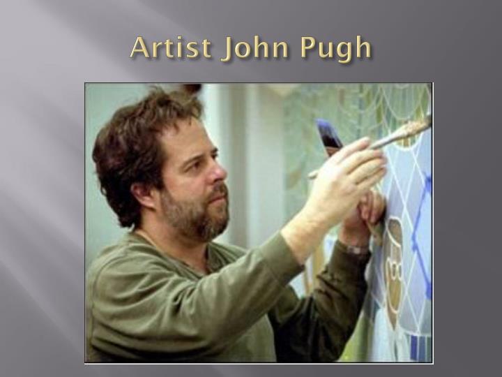 Artist John Pugh