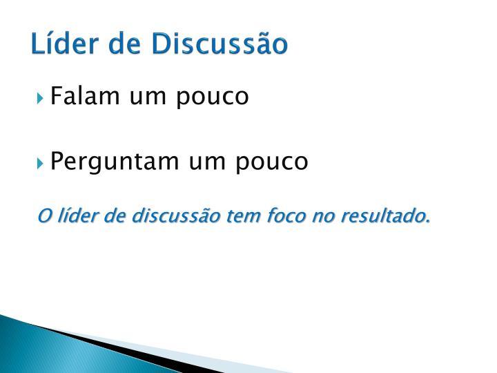 Líder de Discussão