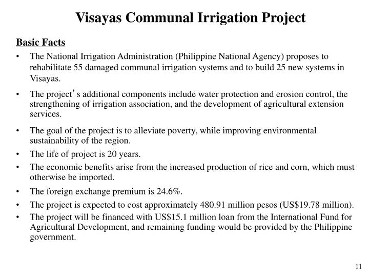 Visayas Communal Irrigation Project