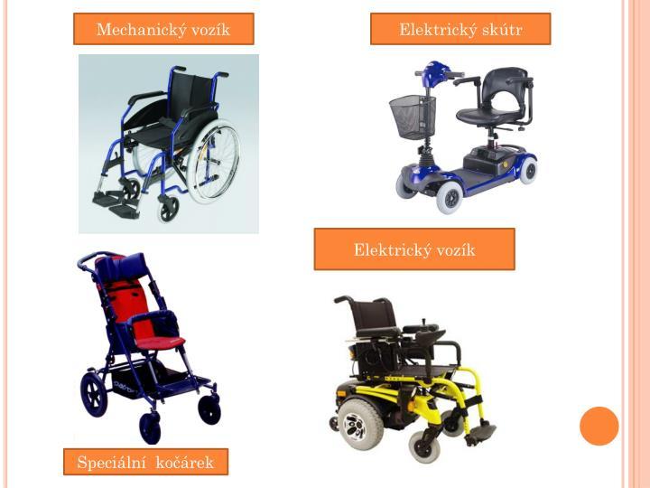 Mechanický vozík