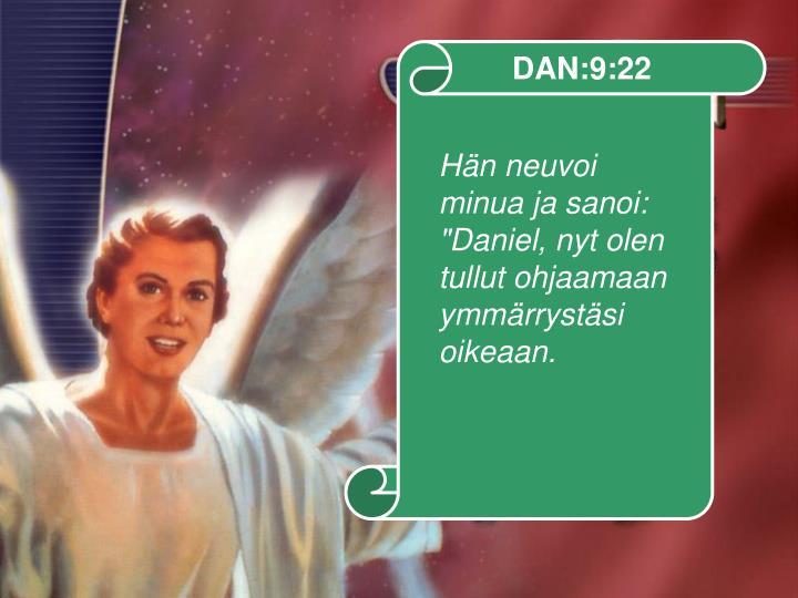 DAN:9:22