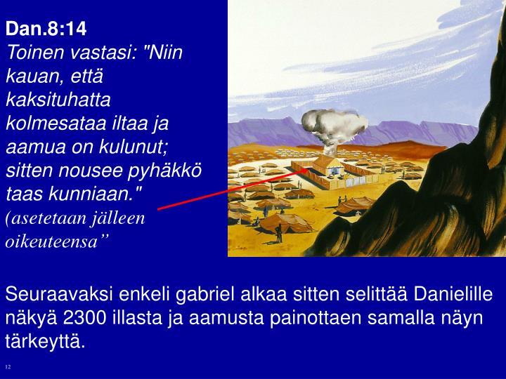 Dan.8:14