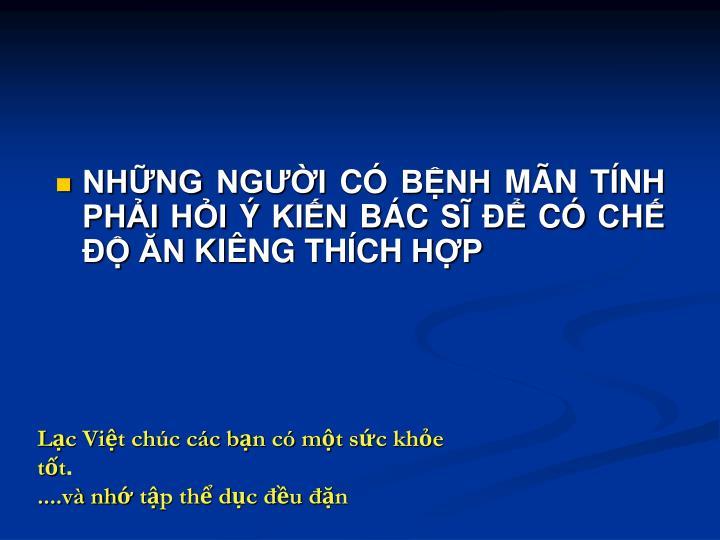 NHNG NGI C BNH MN TNH PHI HI  KIN BC S  C CH  N KING THCH HP