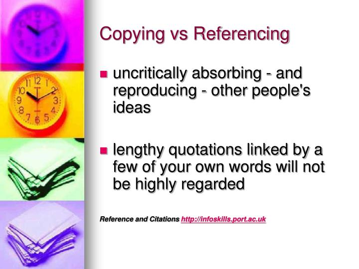 Copying vs Referencing