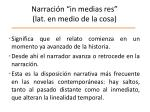 narraci n in medias res lat en medio de la cosa