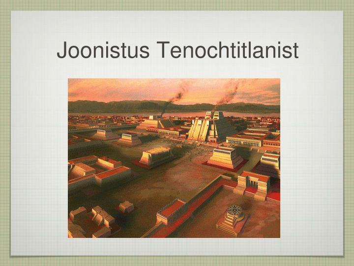 Joonistus Tenochtitlanist