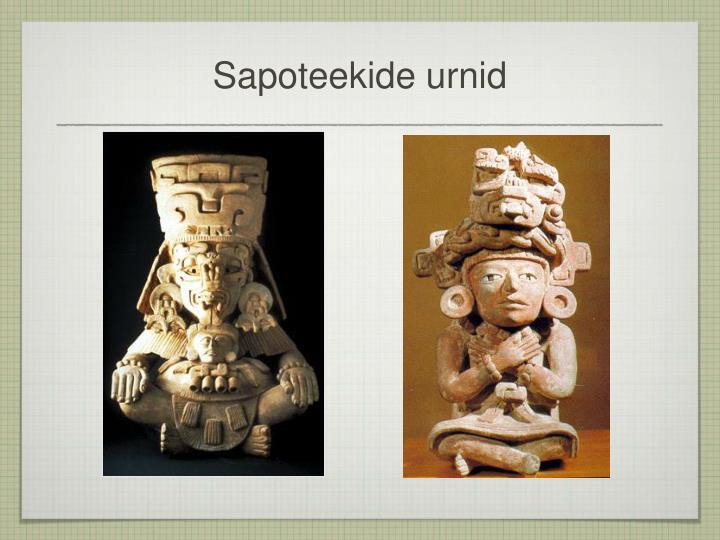 Sapoteekide urnid