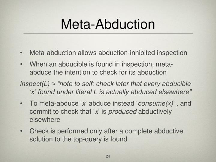 Meta-Abduction