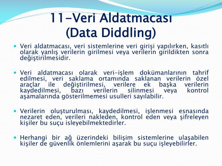 11-Veri Aldatmacası