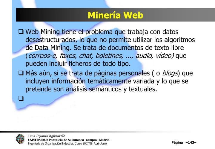 Minería Web