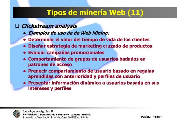 Tipos de minería Web (11)
