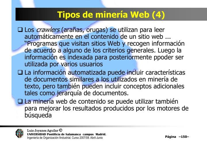 Tipos de minería Web (4)