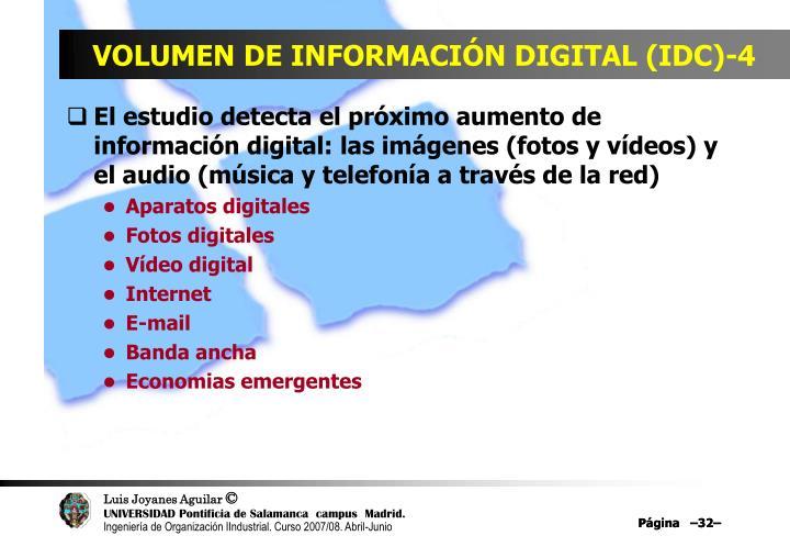 VOLUMEN DE INFORMACIÓN DIGITAL (IDC)-4