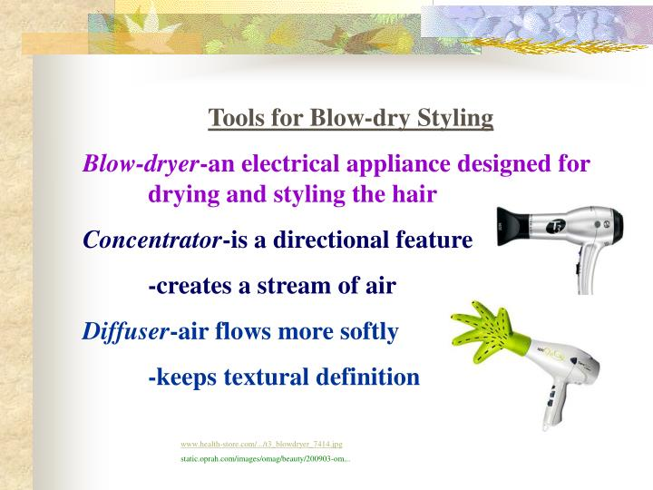 Tools for Blow-dry Styling