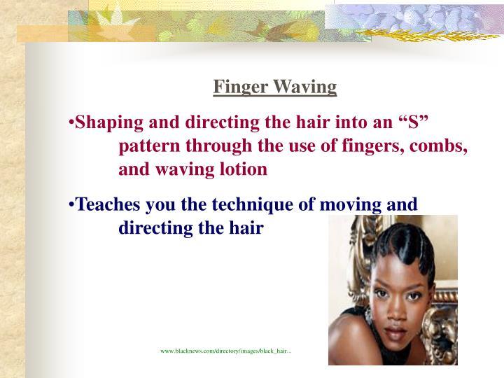 Finger Waving
