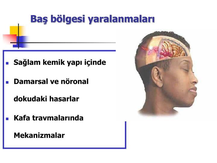 Baş bölgesi yaralanmaları