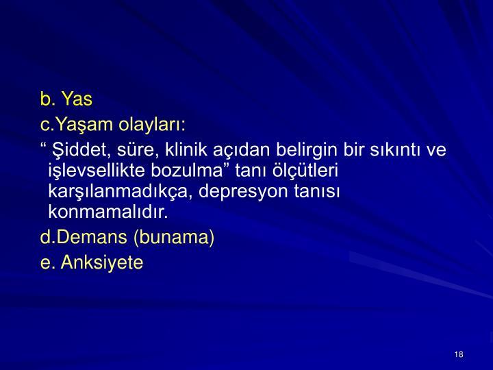 b. Yas