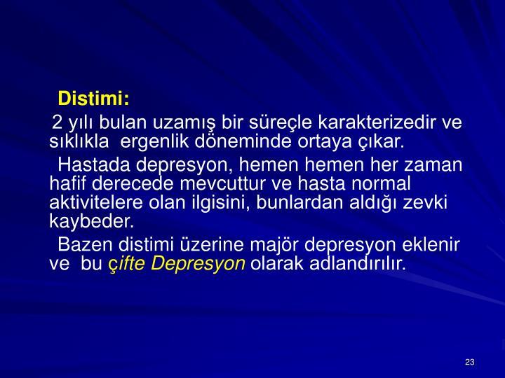 Distimi: