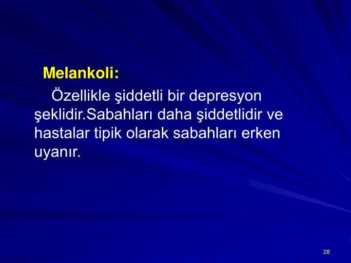 Melankoli: