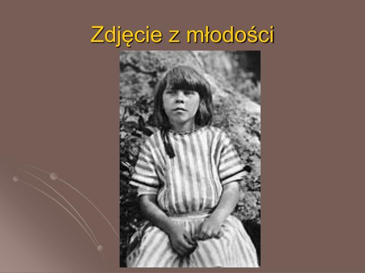 Zdjęcie z młodości