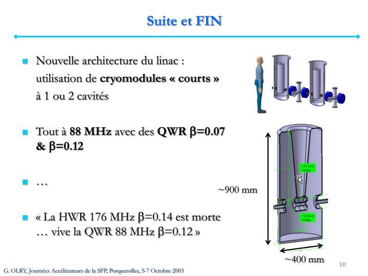 Suite et FIN