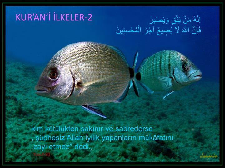 KUR'AN'İ İLKELER-2