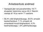 anketeeritute andmed1