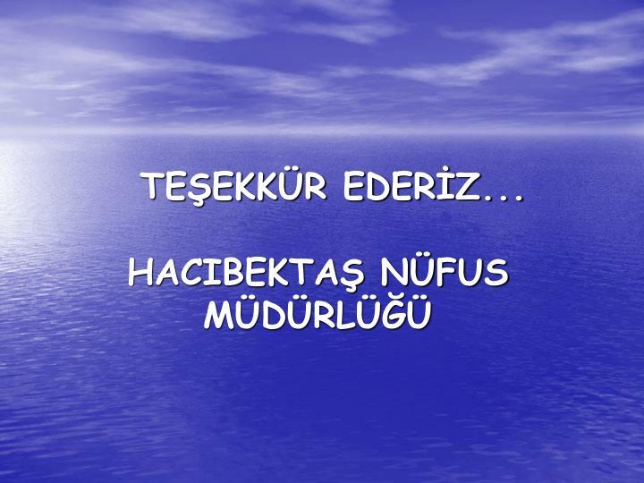 TEEKKR EDERZ...