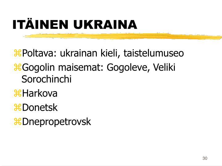ITÄINEN UKRAINA