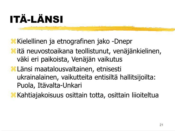 ITÄ-LÄNSI