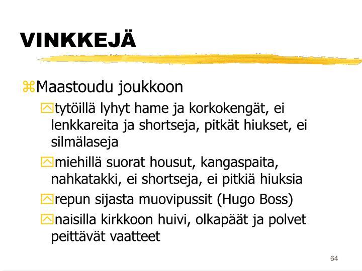 VINKKEJÄ