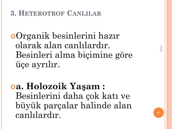 3. Heterotrof Canllar