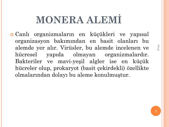 MONERA ALEM