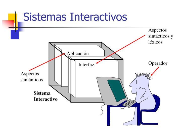 Sistemas Interactivos