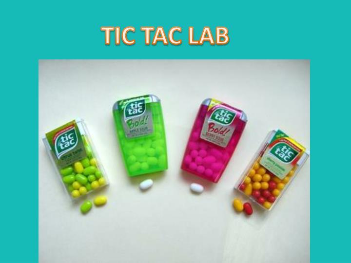 TIC TAC LAB