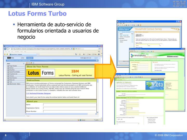 Lotus Forms Turbo