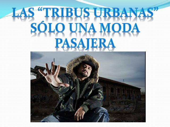 "Las ""tribus urbanas"" sólo una moda pasajera"