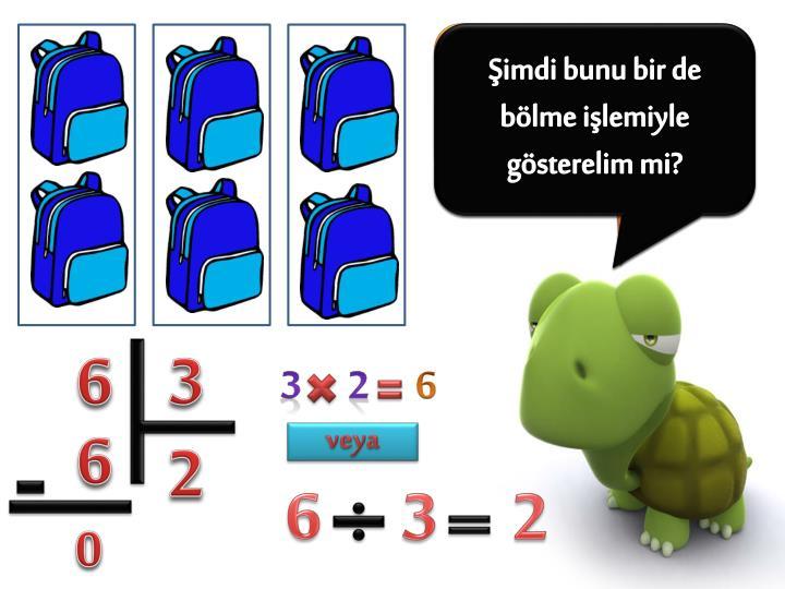 6 çantayı 3eş gruba ayıralım mı?