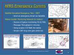 aprs emergency comms
