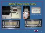 aprs event data entry2