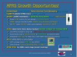 aprs growth opportunities