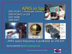 aprs in space