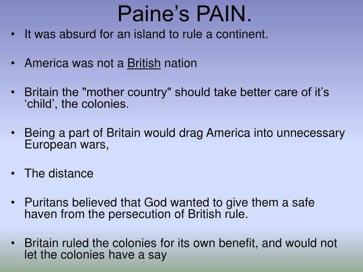 Paines PAIN.