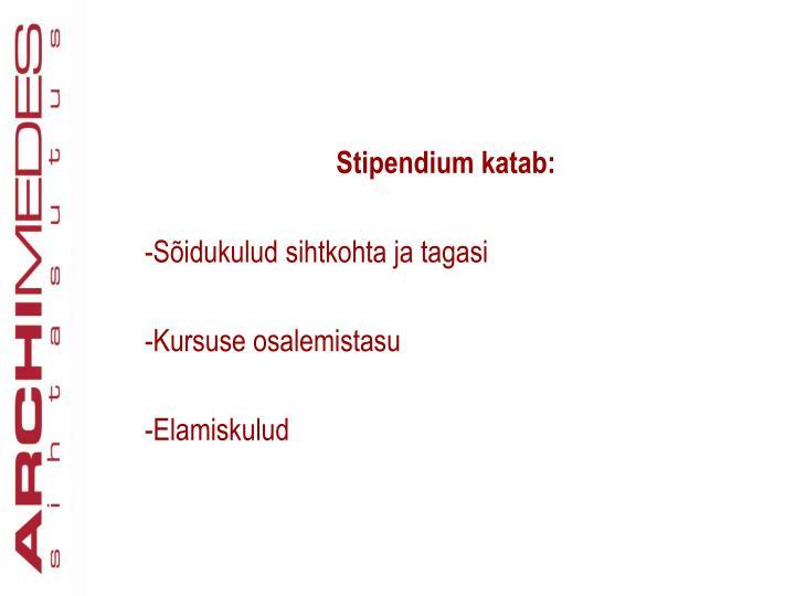 Stipendium katab: