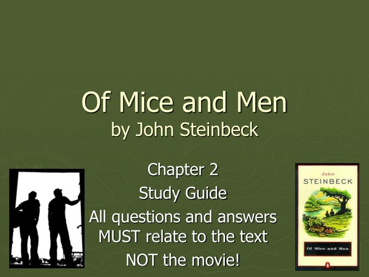 character review of of mice and men
